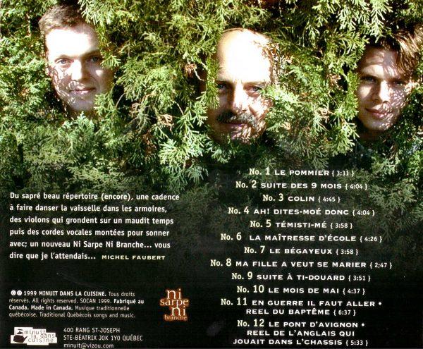 cd back cover quand ca vient temps