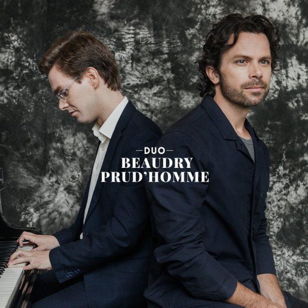 Duo Beaudry - Prud'homme CD Chansons en noires et blanches_Pochette