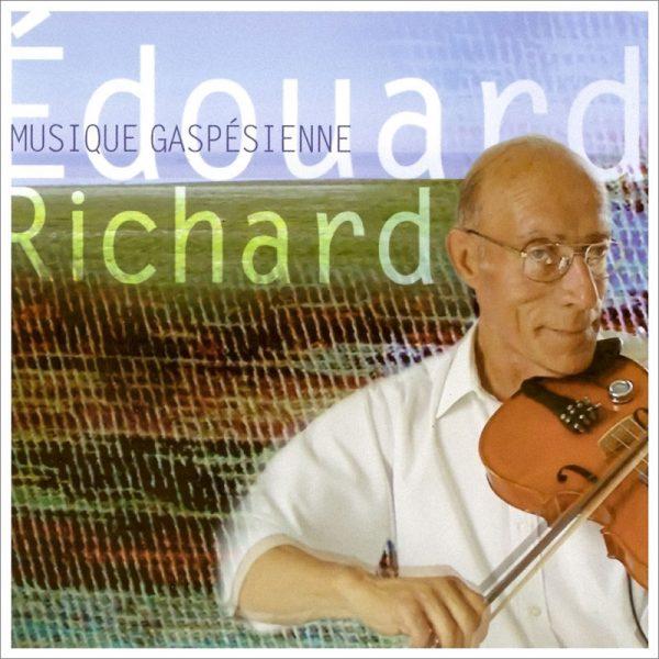 edouard richard musique gaspesienne pochette cd image