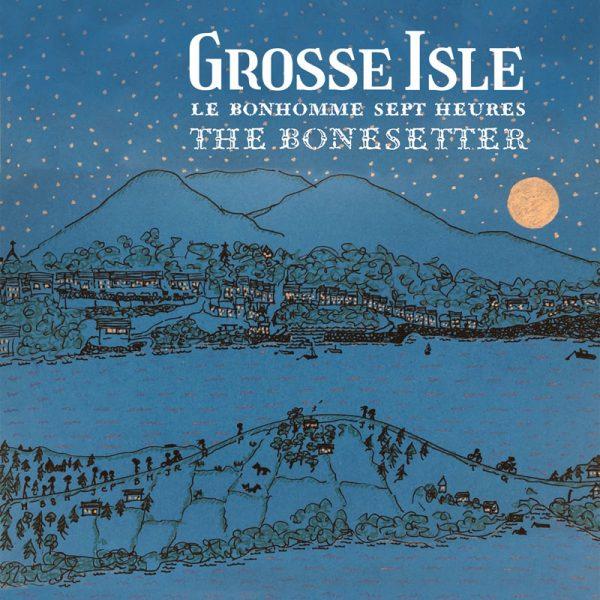grosse isle le bonhomme sept heures the bonesetter cd artwork